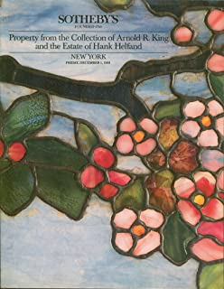 Property from the Collection of Arnold R. King and the Estate of Hank Helfand: New York, Friday, December 1, 1989 (Sale 5945