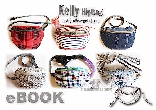 Kelly Hüfttasche, Nähanleitung mit Schnittmuster in 4 Größen [Download]
