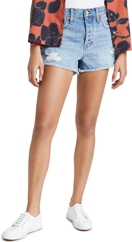 Madewell Women's Rigid Boy Shorts