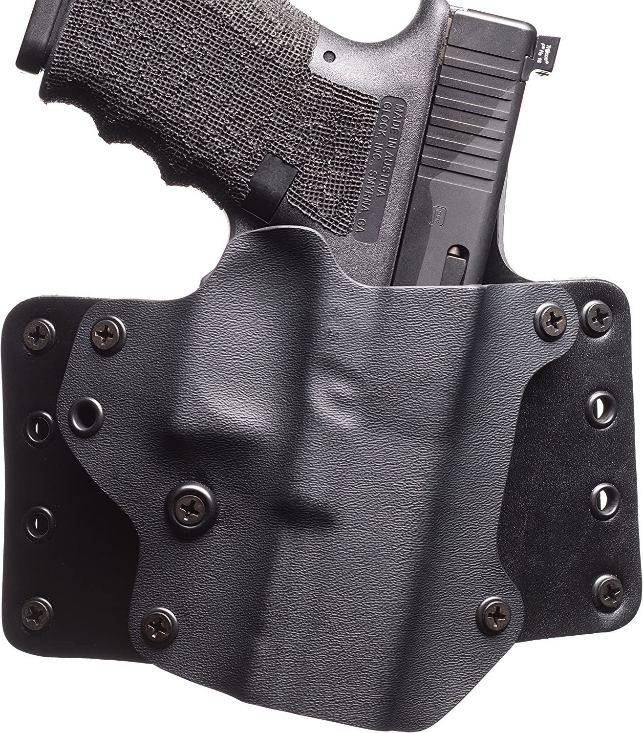 Black Point Tactical Leather Wing Holster Fits Detroit Mall OWB Springfield X trust