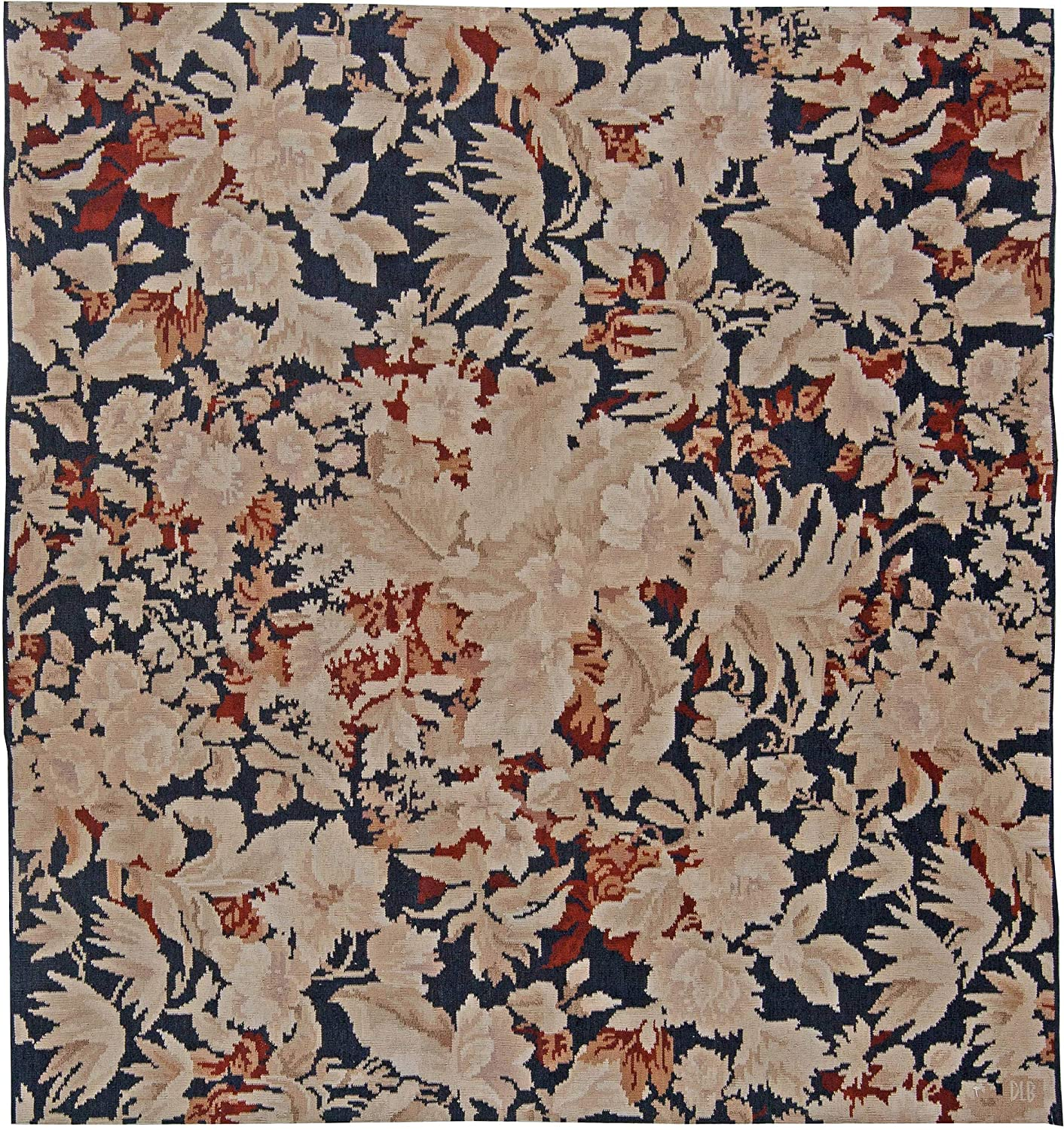 7' x OFFicial shop Contemporary Bessarabian Floral Classic Rug - N11 Handwoven Wool
