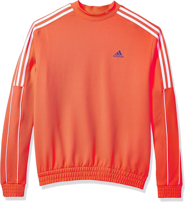 adidas Men's 3-Stripes Collection Crew Sweatshirt