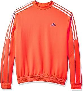 adidas Men's 3-stripes Collection Crew Sweatshirt Crew Neck Sweatshirt