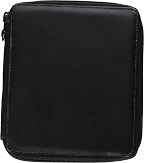 Speedball Art Products 414720 72 Piece Leather Pencil Case, Black