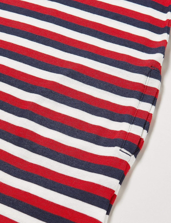 Tommy Hilfiger Stripe tee Dress S//S Vestido para Ni/ñas