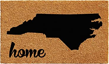 "Calloway Mills 102921830 North Carolina Doormat, 18"" x 30"", Natural/Black"