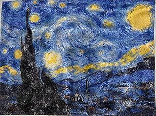 La noche estrellada de Van Gogh Kit de punto de cruz