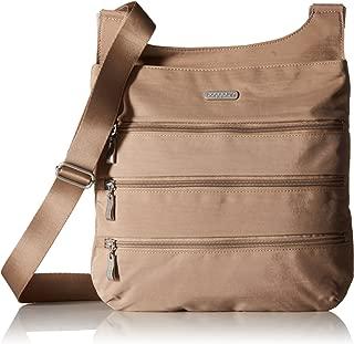 Baggallini Big Zipper Travel Crossbody Bag.