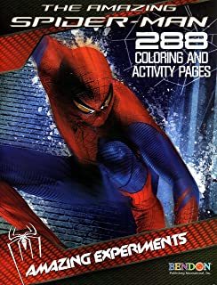 The Amazing Spiderman 288 Coloring and Activity Pages