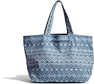 Margaritaville Large Canvas Tote Bag for Women, Great or Shopping (See More Colors and Designs)