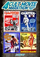 Cult Movie Marathon: Volume 2 (Savage Island, Chatterbox, The Naked Cage & Angels from Hell)