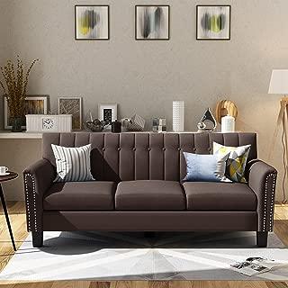 Best brown material sofa Reviews