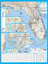 Florida State Laminated Wall Map Poster 48x64