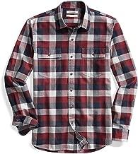 Amazon Brand - Goodthreads Men's Slim-Fit Long-Sleeve Plaid Herringbone Shirt