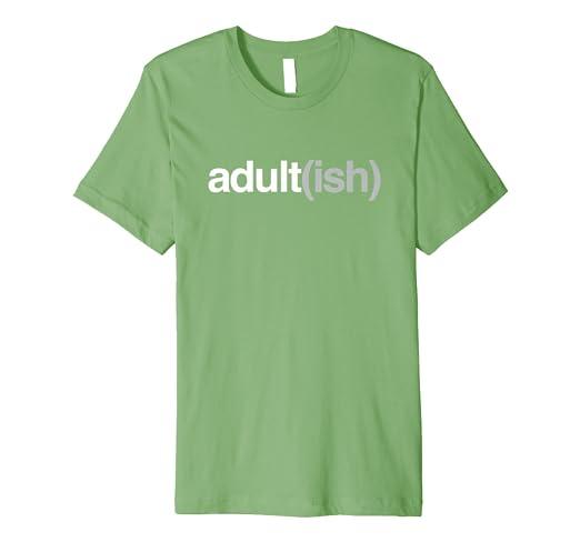 c7af20b42 Amazon.com: Adult(ish) Funny Adult-ish Irish St Patrick's Day Shirt ...