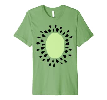 1065a928e56b7c Image Unavailable. Image not available for. Color: Kiwi Costume Party Shirt  - Cute Halloween Costume Fruit