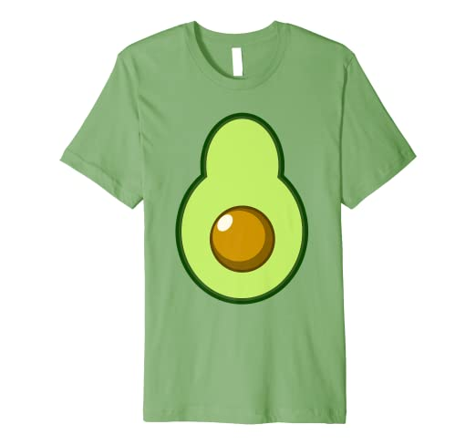 Amazon Avocado Costume Halloween Funny Idea DIY T Shirt Clothing
