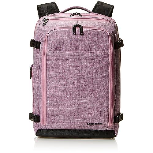 Amazon Basics Slim Carry On Laptop Travel Weekender Backpack - Purple