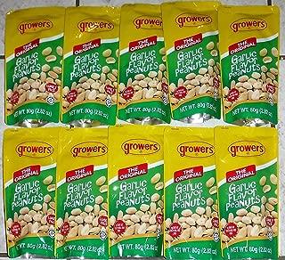 10-packs Growers Peanut Garlic Flavor 100g Ea (Total 1kg)