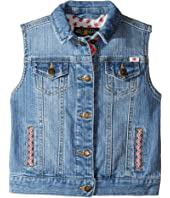 Lucky Brand Kids - Denim Vest w/ Embroidery (Toddler)