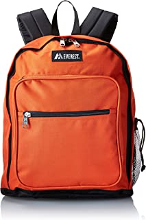 Everest Luggage Classic - Mochila, Anaranjado (Rustic orange), Una talla