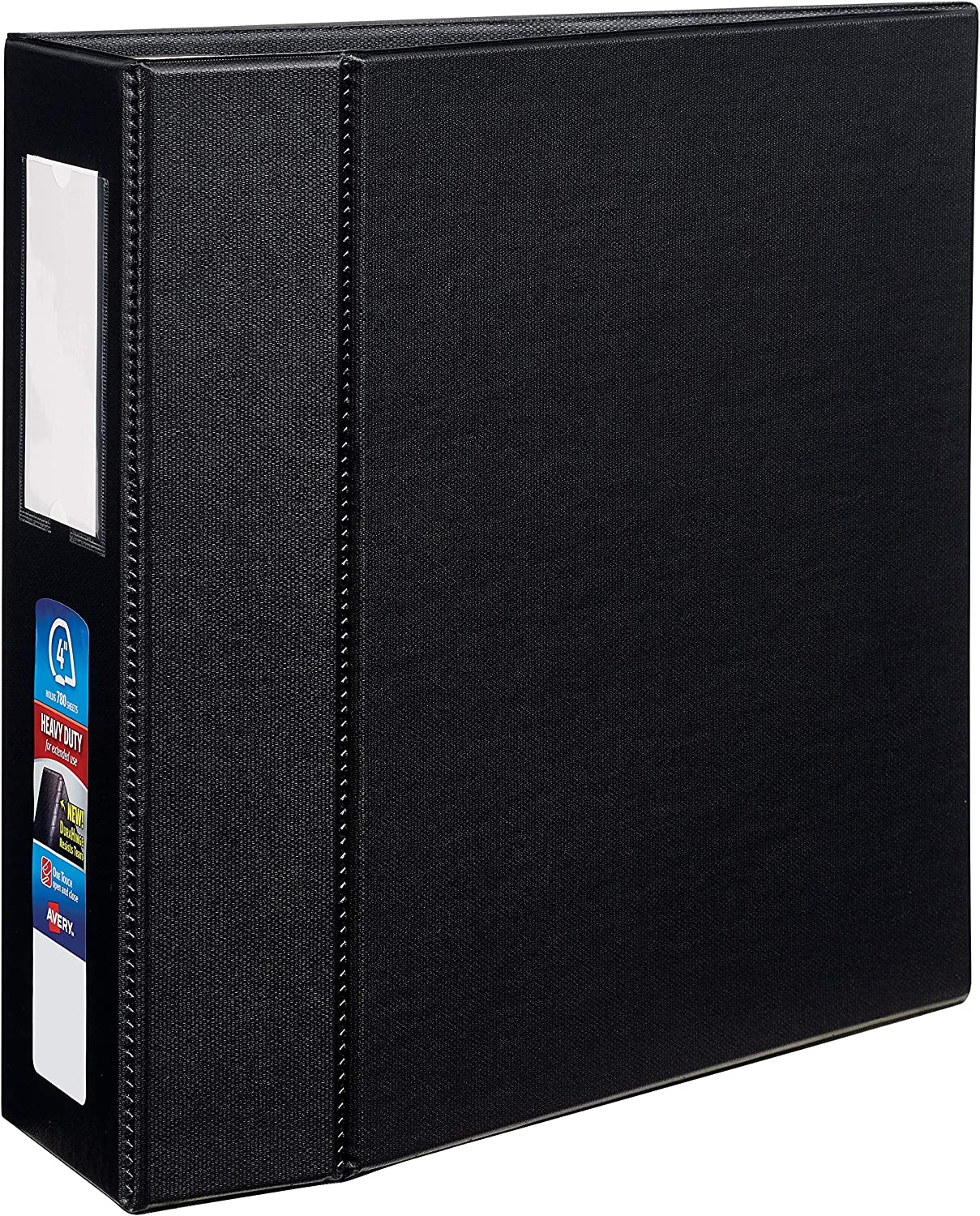 Avery Max 65% OFF Heavy-Duty Binder with 4 inch EZD Ranking TOP2 7 Black Ring Touch One