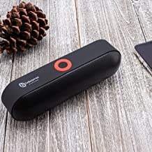 Wireless Bluetooth Speaker With HD Sound and Bass, 24-Hour Playtime, 66 ft Long Bluetooth Wireless Range, Built-in Mic, Dual Driver Speakers, Best Portable Wireless Speaker for Samsung, iPhone & More