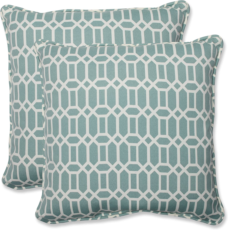 Pillow Perfect Outdoor Indoor Rhodes Quartz Pillows Washington Mall 11.5 Clearance SALE Limited time Lumbar