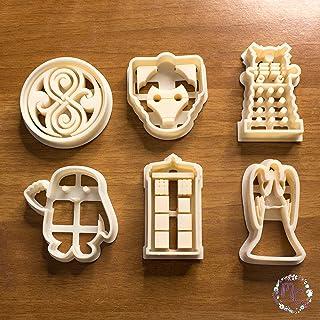 Doctor Who cortadores de galletas, cookie cutter, molde, cortador de galletas, adecuado para pasta de azúcar, decoración d...