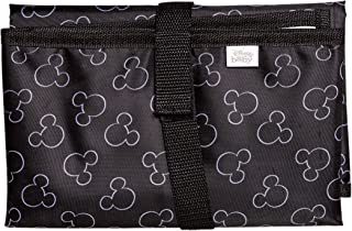 J.L. Childress Disney Baby Full Body Portable Changing Pad for Baby, Mickey Black