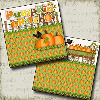 PUMPKIN PATCH NPM - Premade Scrapbook Pages - EZ Layout 2343