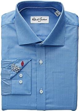 Ron Solid Long Sleeve Dress Shirt
