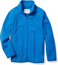 Amazon Essentials Boys' Full-Zip Polar Fleece Jacket