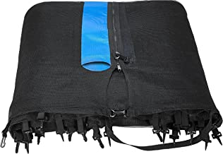 Upper Bounce 13' Trampoline Net attaches with Sleeves for 6 Straight Pole Enclosures - Fits Bravo/Airzone/Variflex (Net Only)