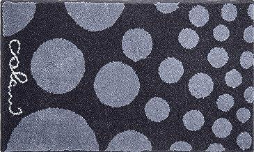Grund Designer Bath Rug COLANI, Ultra Soft and Absorbent, Anti Slip, Colani 16, 60x100 cm, Grey