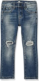 7 For All Mankind Kids Boys' Big Paxtyn Skinny Jean, Tectonic, 10