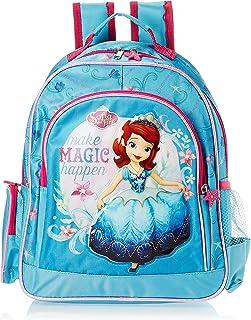 ديزني صوفيا حقيبة ظهر مدرسية للبنات - ازرق