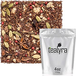 Tealyra - Moroccan Orange Rooibos - Ginger - Cinnamon - Fennel - Red Bush - Herbal Loose Leaf Tea - Vitamins and Antioxida...
