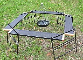 キャンプスタイル(campstyle) 焚き火台 テーブル 焚き火テーブル 囲炉裏テーブル キャンプテーブル セット 収納袋付き