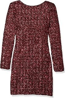 Women's Lola Long Sleeve Sequin Dress
