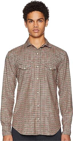 Mini-Check Snap Western Shirt