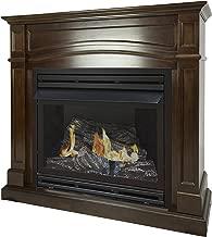 Pleasant Hearth 46 Full Size Cherry 32,000 Liquid Propane Vent Free Fireplace System 32K BTU, Rich