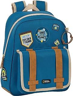 Mochila Infantil Adaptable Carro Reciclable National Geographic Explorer, 280x100x340mm