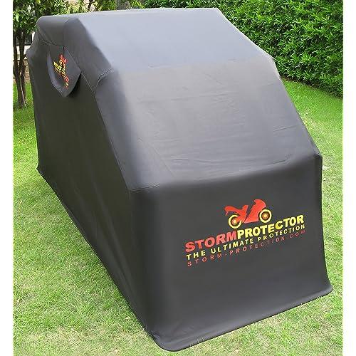motorcycle shed. Black Bedroom Furniture Sets. Home Design Ideas