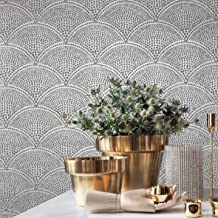 Real Mica Stone Unique Designer Art House Luxury Wallcoverings Chip Texture Wallcovering 3D Modern Gray Silver Metallic Gold Arthouse Fish Scales Natural Wallpaper Paste The Wall only (Sample)