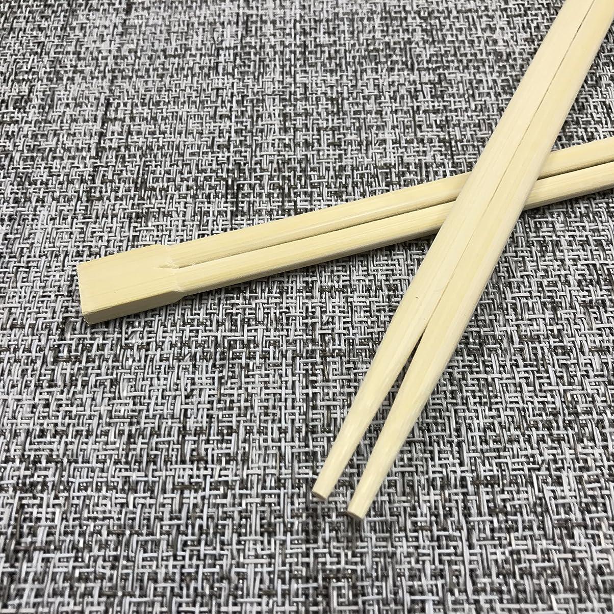 油鼻後退する割り箸 竹箸24cm 裸 100膳 x 30ポリ(3000膳入)