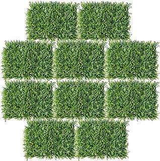 Valo Concept 10 Piezas Follaje Artificial Muro o Pared – Decoración de bardas Jardín Verde Vertical para Exterior o Interi...