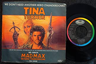 We Don't Need Another Hero / instrumental w/ picture sleeve Mad Max sdtrk
