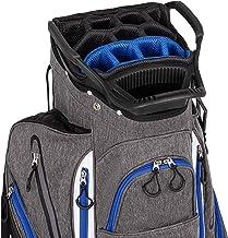 Founders Club Franklin Golf Push Cart Bag -Riding Cart Bag -Full Bag Rain Cover -Secure Push Cart Base -Light Weight -15 W...