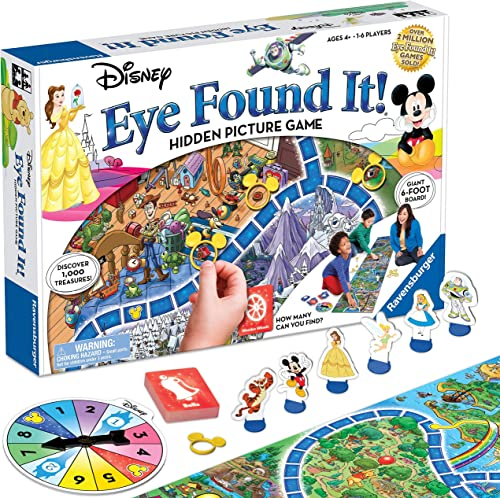 Ravensburger World of Disney Eye Found It Board Game for Boys and Girls Ages 4 and Up - A Fun Family Game You'll Want...